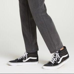 Billabong Fifty Cropped denim, jean, vintage black